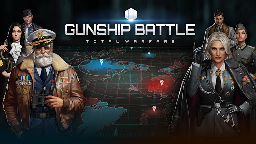 Gunship Battle Total Warfare  APK MOD (Astuce) screenshots 1
