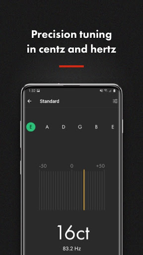 Fender Guitar Tuner 4.1.1 screenshots 7