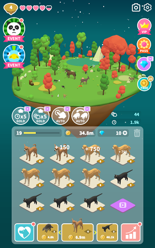 Merge Safari - Fantastic Animal Isle 1.0.98 screenshots 24