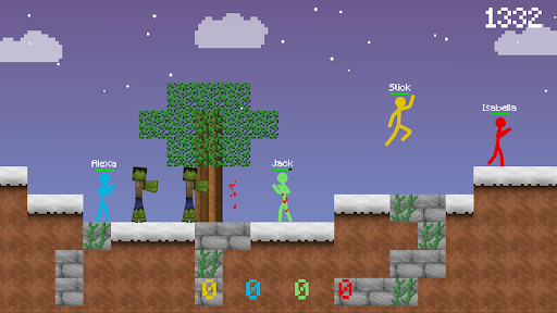 Stickman vs Multicraft: Survival Craft Pocket  screenshots 3