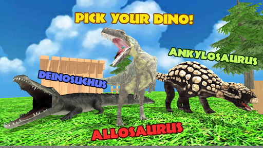 Dinosaur Battle Arena: Lost Kingdom Saga 0.3 screenshots 1