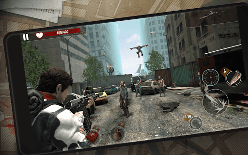 ZOMBIE HUNTER: Offline Games apktram screenshots 16