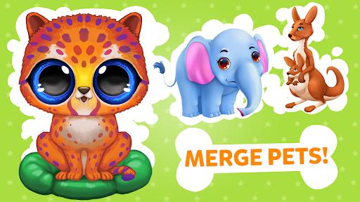 Merge Animals Zoo: Cute Animal Safari Park Tycoon 2.4.8 screenshots 1