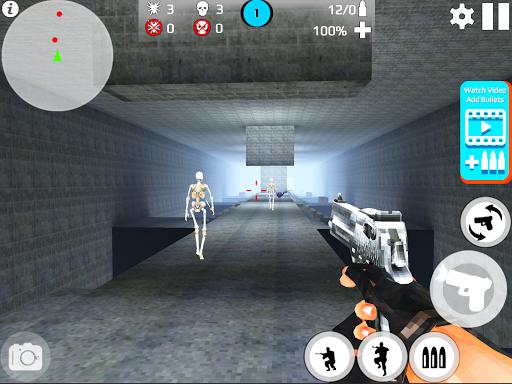 Skeleton Shooting War: Survival 3.9 screenshots 9