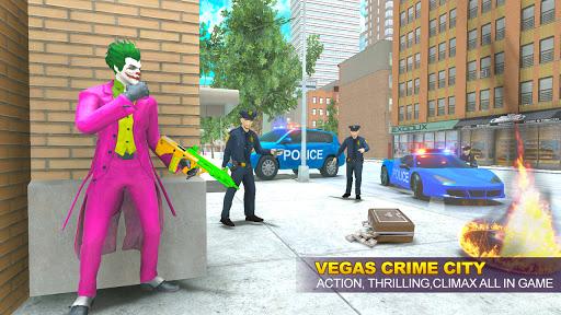 Grand Clown Crime City War: Gangster Crime Games modavailable screenshots 2