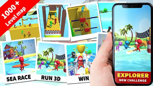 Sea Race 3D - Fun Sports Game Run 3D: Water Subway  Screenshots 8