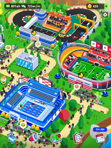 Sports City Tycoon - Idle Sports Games Simulator 1.6.2 screenshots 22