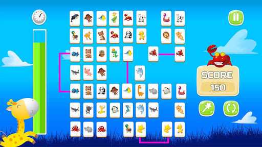 Connect Animals : Onet Kyodai (puzzle tiles game)  screenshots 7