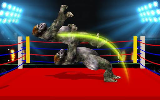 Wild Gorilla Ring Fighting:Wild Animal Fight screenshots 1