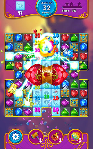 Jewel Witch - Best Funny Three Match Puzzle Game 1.8.2 screenshots 20