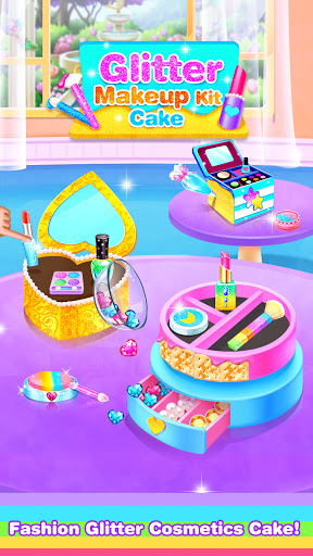 Makeup Kit Comfy Cakes - Fun Games for Girls  screenshots 1