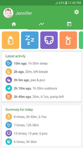 Baby tracker - feeding, sleep and diaper 1.0.94 Screenshots 1