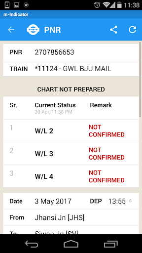 m-Indicator- Mumbai - Live Train Position 17.0.189 Screenshots 5