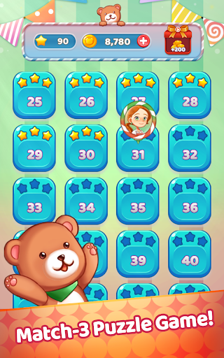 Sweet Jelly Pop 2021 - Match 3 Puzzle 1.0 screenshots 9