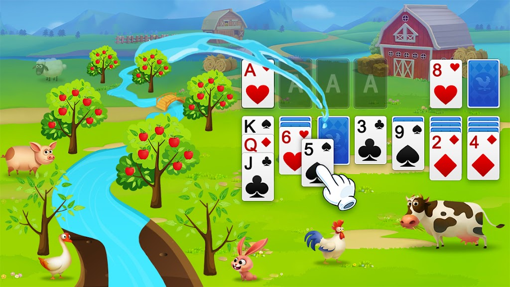 Solitaire - My Farm Friends poster 2