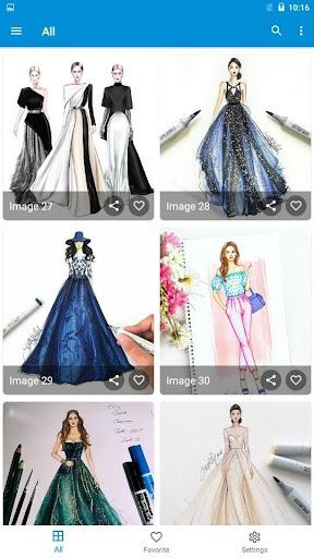 Creative Fashion Design Flat Sketch Ideas  Screenshots 16