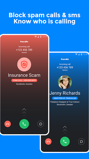 Truecaller: Caller ID & spam blocking  screenshots 1