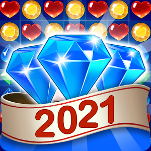Jewel &amp Gem Blast  Match 3 Puzzle Game