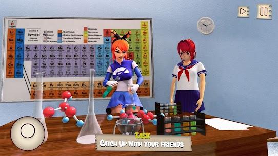 Anime High School Girl MOD APK 1.4 (Free Purchase) 9