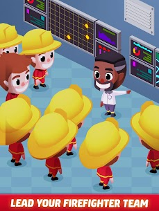 Idle Firefighter Tycoon APK , Fire Emergency Manager APK Download 17