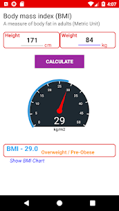 BMI Chart for adults For Pc 2020 | Free Download (Windows 7, 8, 10 And Mac) 1