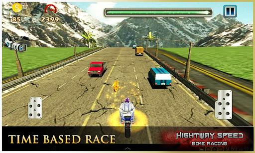 Highway Speed Motorbike Racer : Bike Racing Games  screenshots 5