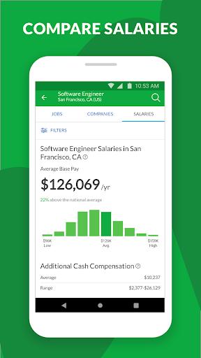 Glassdoor - Job search, company reviews & salaries  Screenshots 4