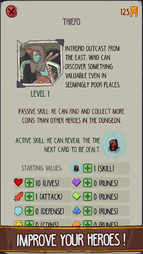 Dungeon Faster - Card Strategy Game 1.127 screenshots 5