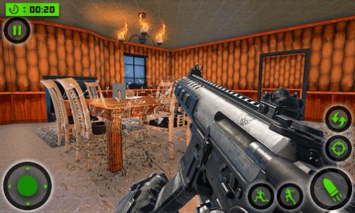 House Destruction Smash Destroy FPS Shooting House Mod Apk (God Mode) 3