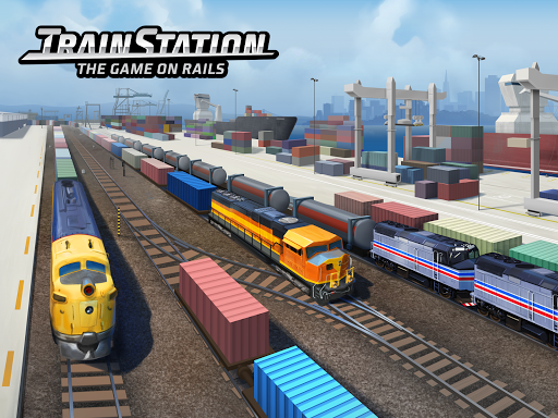 Train Station: Railroad Transport Line Simulator Apkfinish screenshots 1