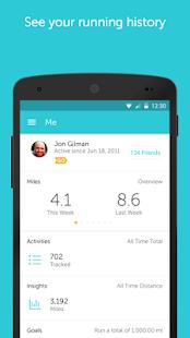 Runkeeper - Run and Mile Tracker 11.9.1 Screenshots 5
