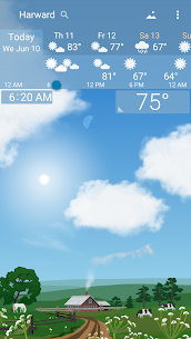 Awesome weather YoWindow + live weather wallpaper 2