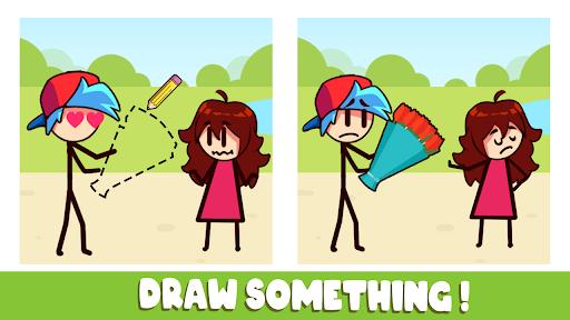 FNF Draw Puzzle - Music Battle Life Story apkdebit screenshots 4