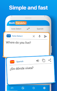 Multi Language Translator and translate document 86.0 Apk 2