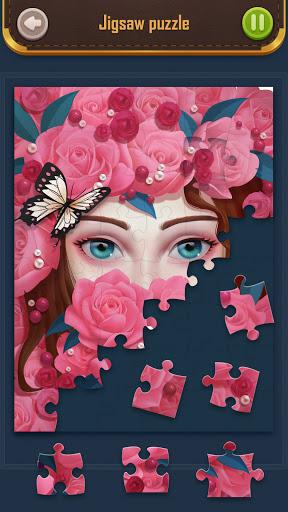 Solitaire&Jigsaw kingdom screenshots 1
