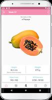 screenshot of Pregnancy Tracker, Week by Week, Day by Day