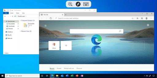 Foto do Remote Desktop