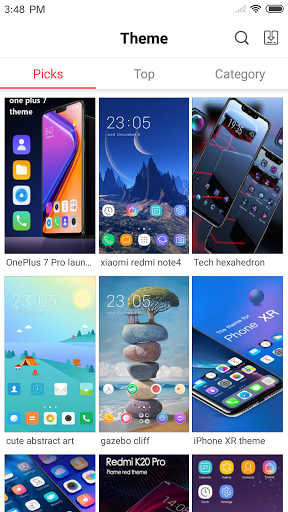iLauncher for OS - Thousands Themes and Wallpapers  Screenshots 8