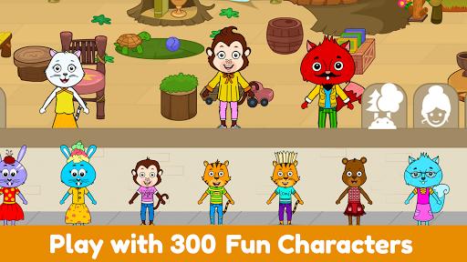 Tizi World: My Play Town, Dollhouse Games for Kids 6.2 Screenshots 16
