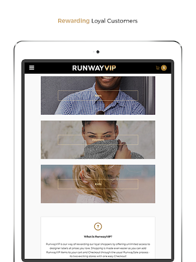 RunwaySale modavailable screenshots 10
