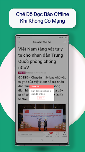 Tin moi 24h - Doc bao, tin tuc 8.7.5 Screenshots 7