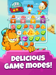 Garfield Food Truck Screenshot