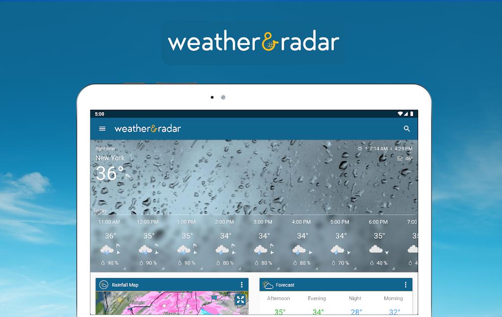 Weather & Radar USA - Storm alerts - ad free  poster 10