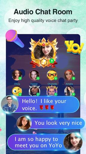 YoYo - Voice chat room, Audio chat, Casual games apktram screenshots 1