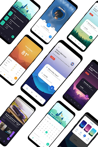 fluidhome for klwp screenshot 1