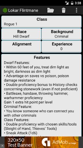 Fifth Edition Character Sheet apktram screenshots 5