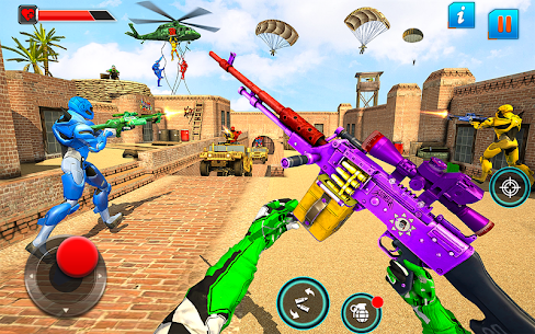 Fps Robot Shooting Games Mod Apk– Counter Terrorist (God Mode) 1