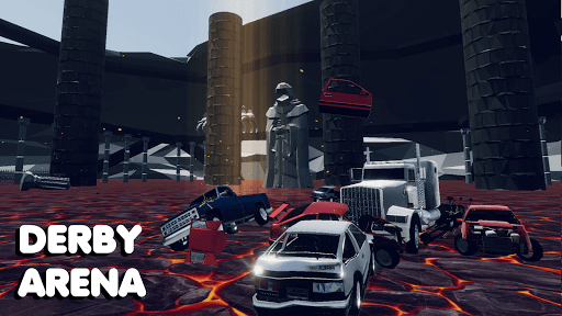 Car crash test simulator: sandbox, derby, offroad  screenshots 2