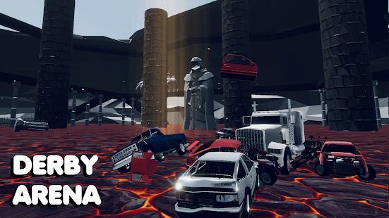 CrashX: car crash simulator, sandbox, derby, SUV 7.6 Screenshots 2