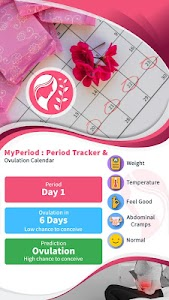 MyPeriod : Period Tracker & Ovulation Calendar 1.3 [Pro]